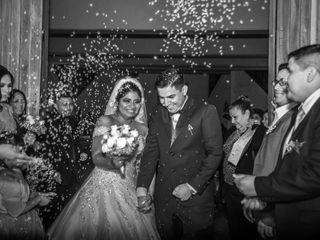 El matrimonio de Leslie y Cristian