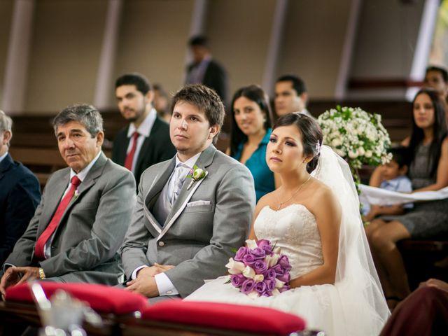 El matrimonio de Cinthia y Jorge Luis