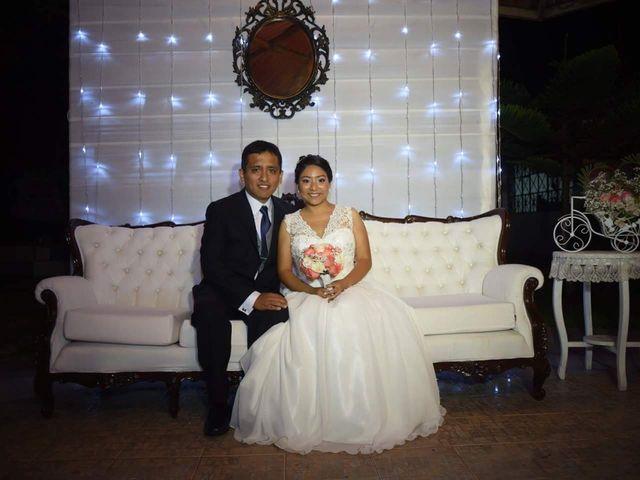 El matrimonio de Karem y Eddy