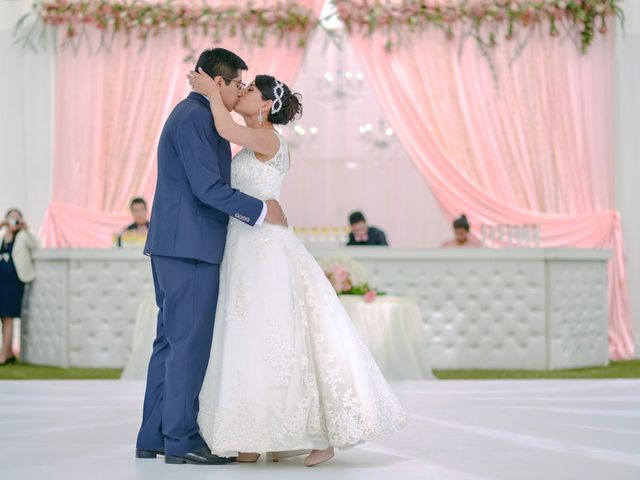 El matrimonio de Jenny y Raúl