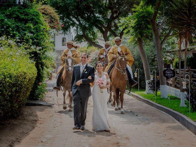 El matrimonio de Cecilia  y Sebastián