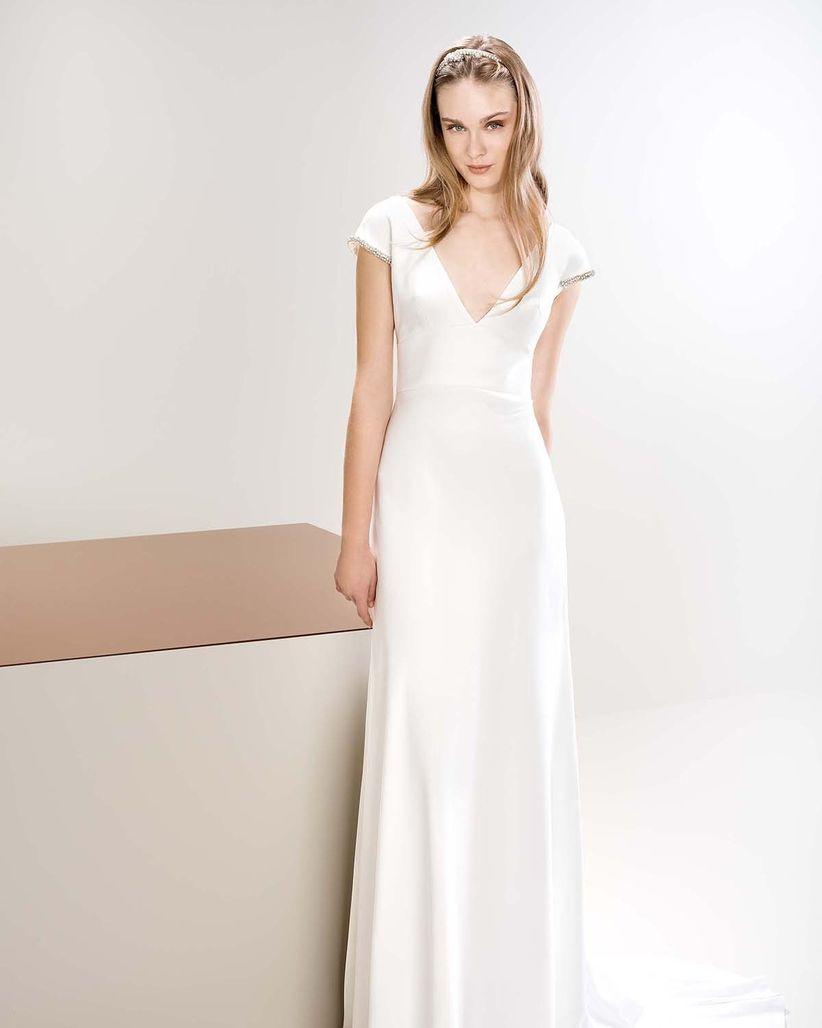 Vestidos de novia para lucir mas delgada