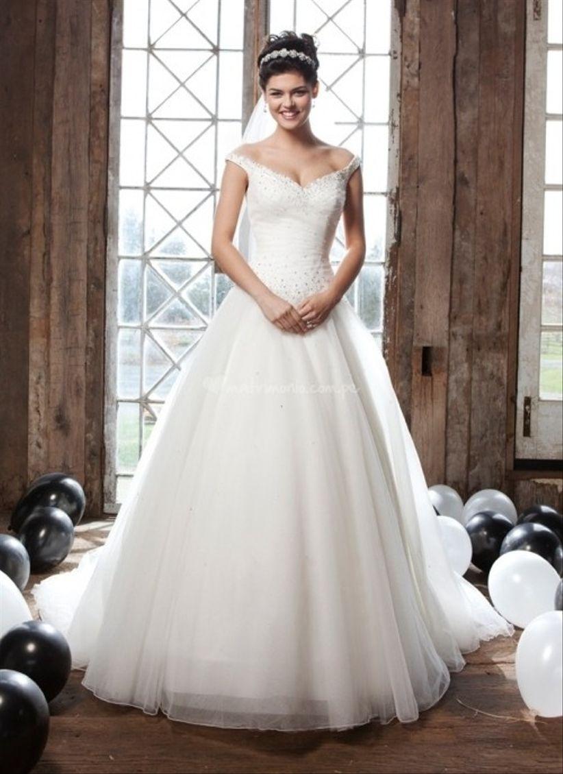 vestidos para novias rellenitas