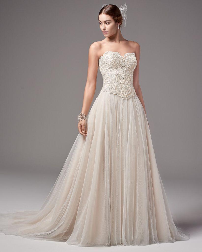 Vestidos de novia para el civil largos