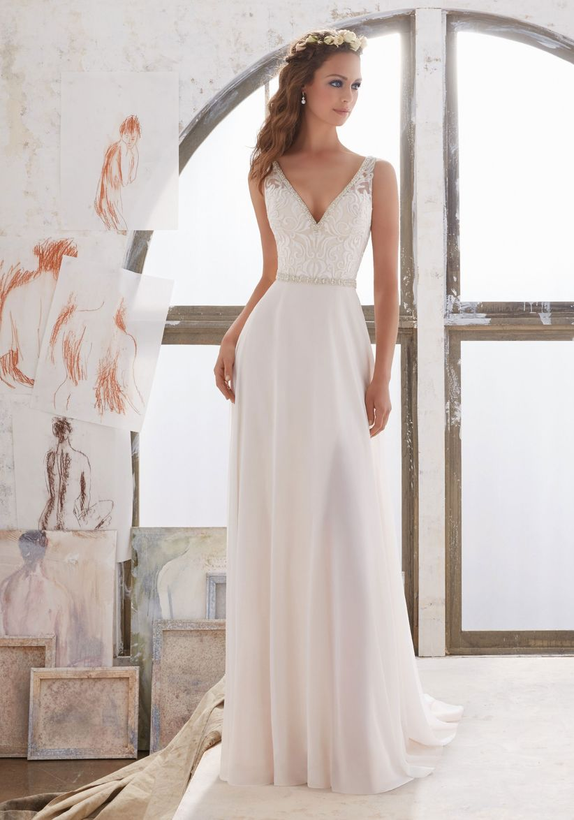 Imagenes de vestidos de novia muy sencillos