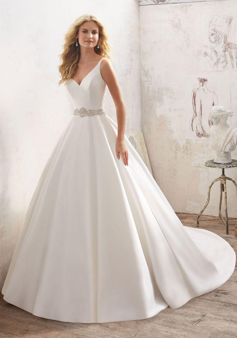 Vestidos de novia para verse mas delgada