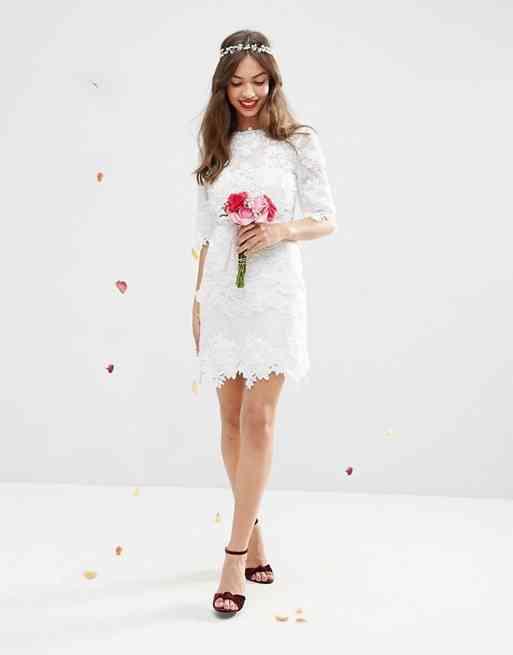 Vestidos De Novia Con Encaje 45 Diseños Románticos Y Seductores
