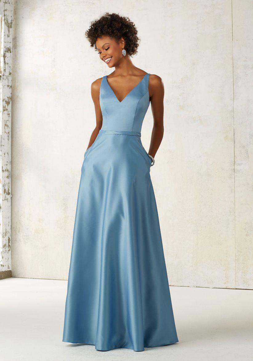50 vestidos azules de fiesta con los que brillarás como invitada