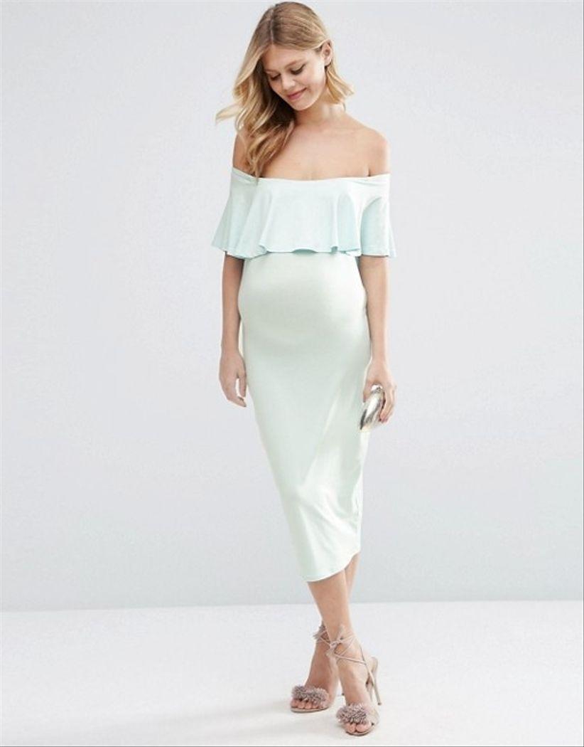 d676ab718 35 vestidos de fiesta para embarazadas