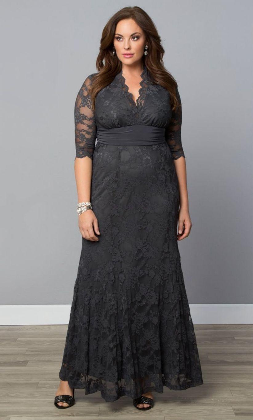 Imagenes de vestidos de fiesta para gordas