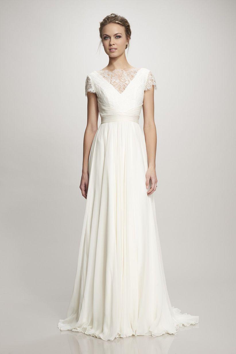 Fotos de vestidos de novia sencillos