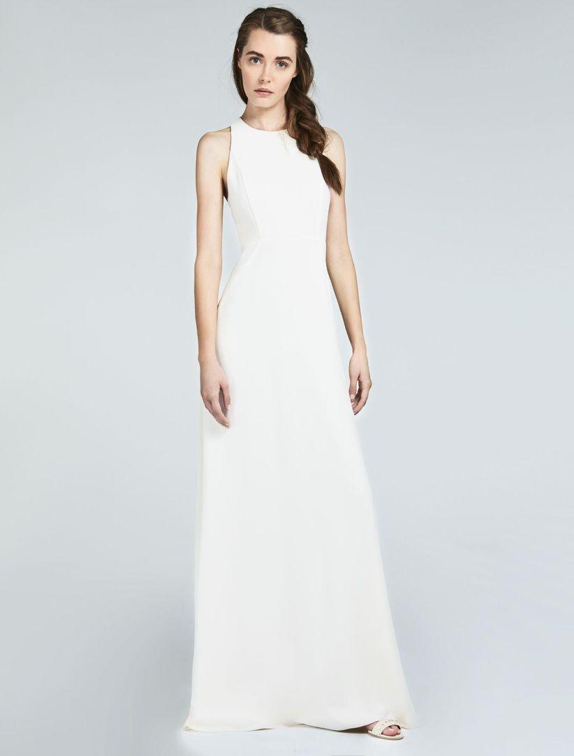Vestidos de bodas sencillos pero bonitos