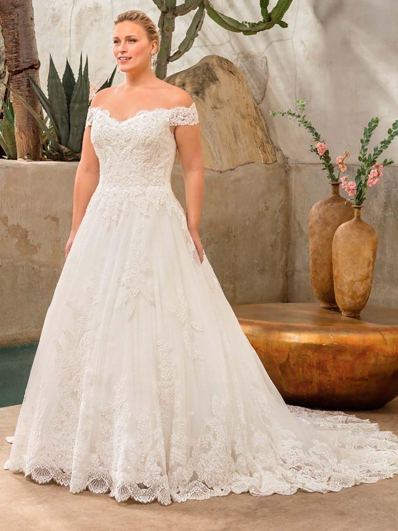 Vestidos de novia para gorditas: los 60 diseños más favorecedores