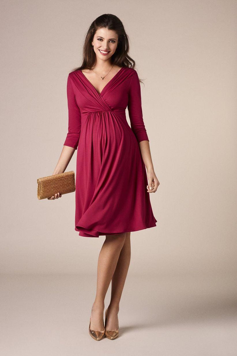 06a174cf3 35 vestidos de fiesta para embarazadas