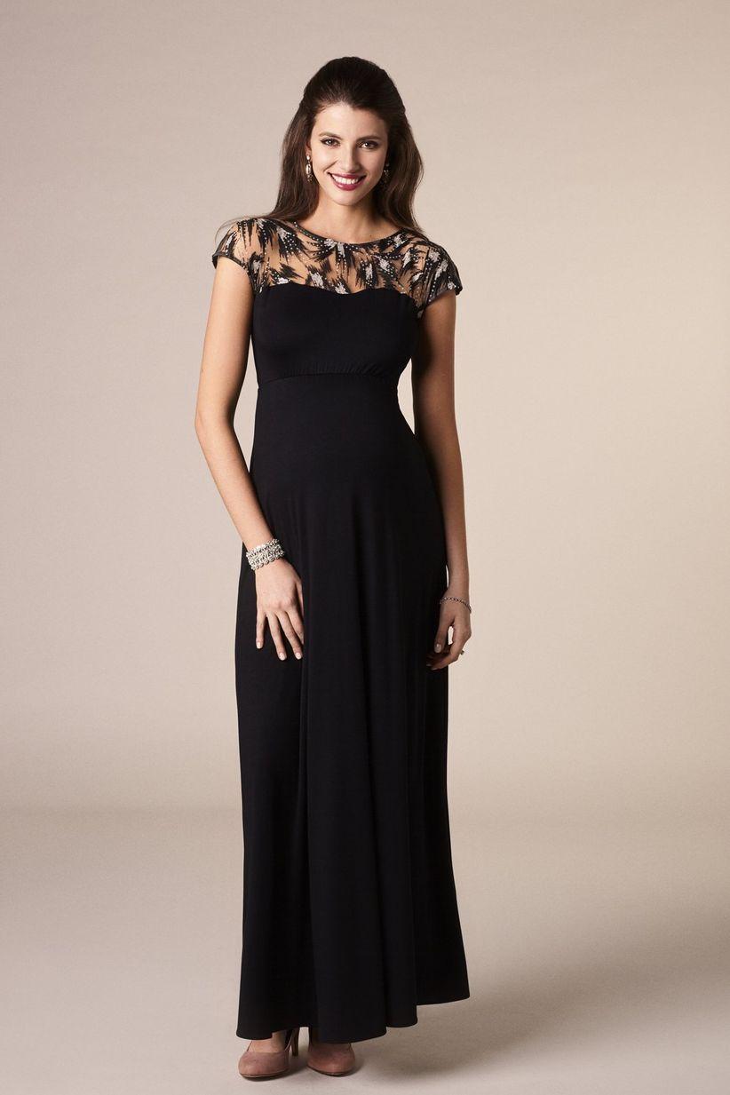 9c7f9f2ae 35 vestidos de fiesta para embarazadas