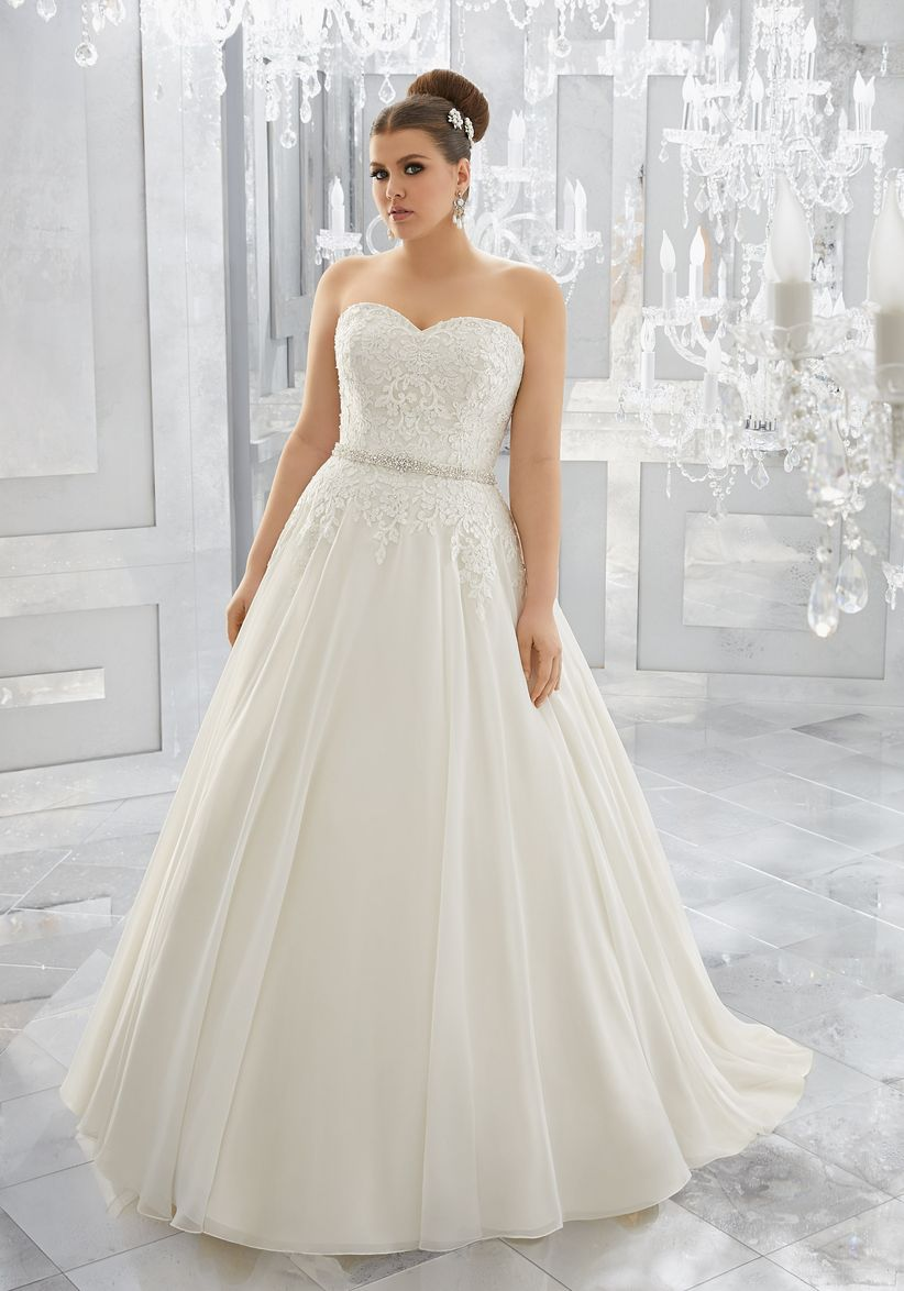 Vestidos novias gorditas 2019