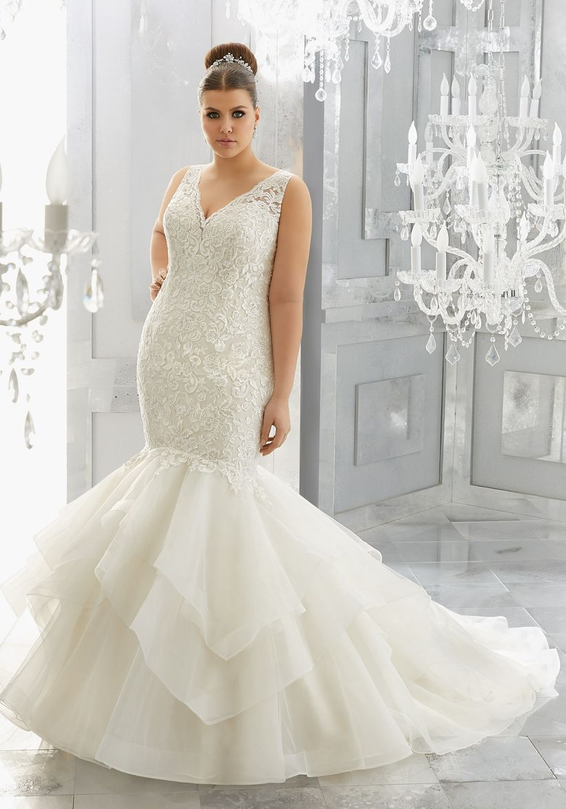 Que vestidos de novia debe usar las gorditas
