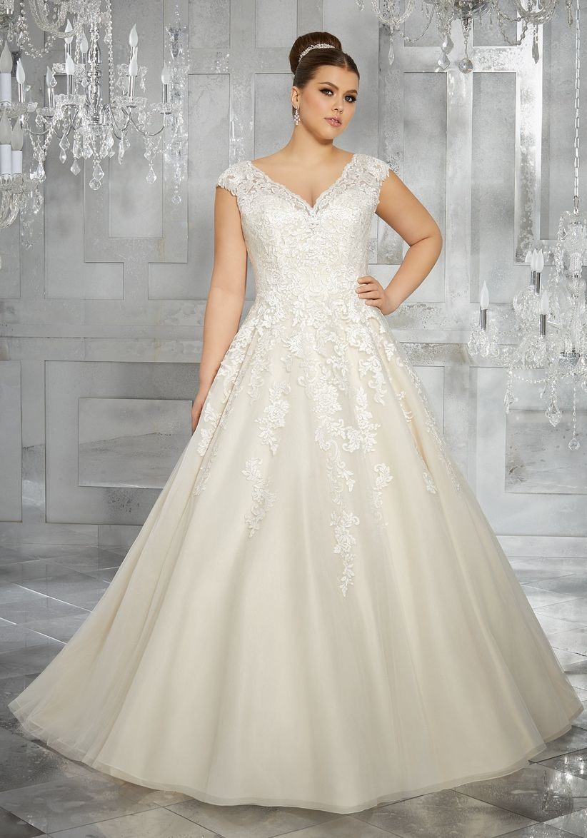 Vestidos de novia para gorditas elegantes