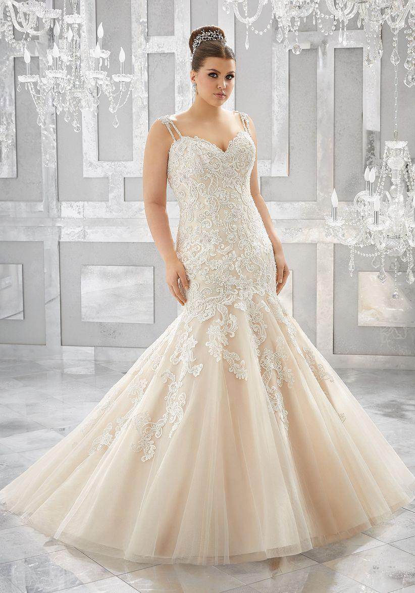 0cd4d57a705 60 vestidos de novia para gorditas ¡luce espectacular en tu gran día!