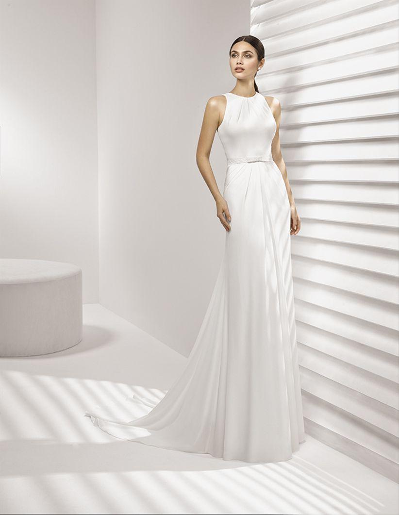 50 vestidos de novia estilo griego ¡lucirás como una diosa!