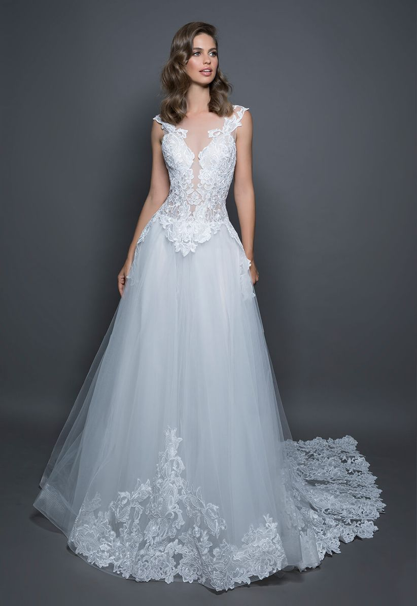 Conoces las diferentes tonalidades de blanco para el vestido de novia?