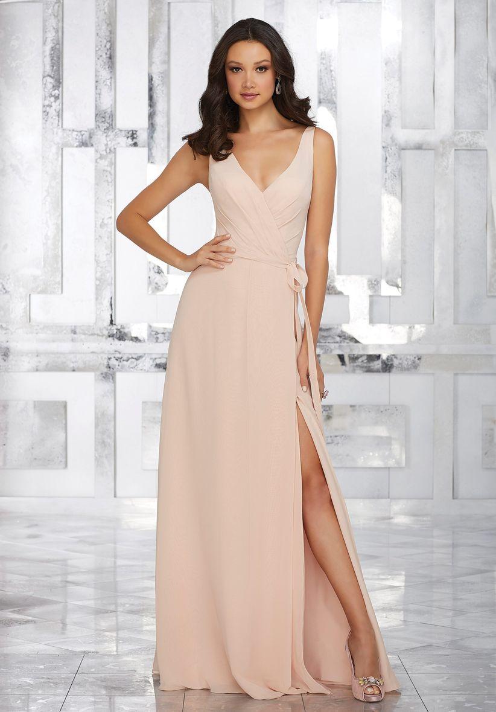 Imagenes de vestidos largos para damas de boda