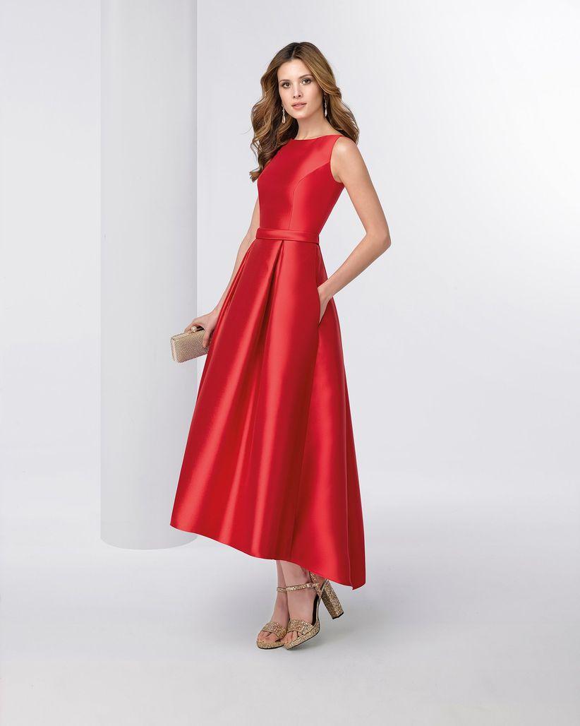 Vestidos para invitada de boda otono
