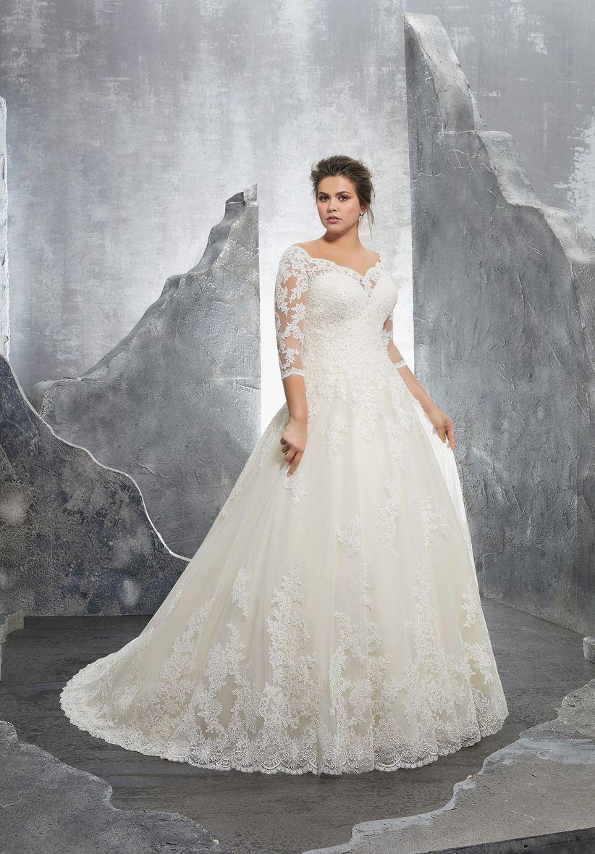 Imagenes de vestidos de novias para gorditas
