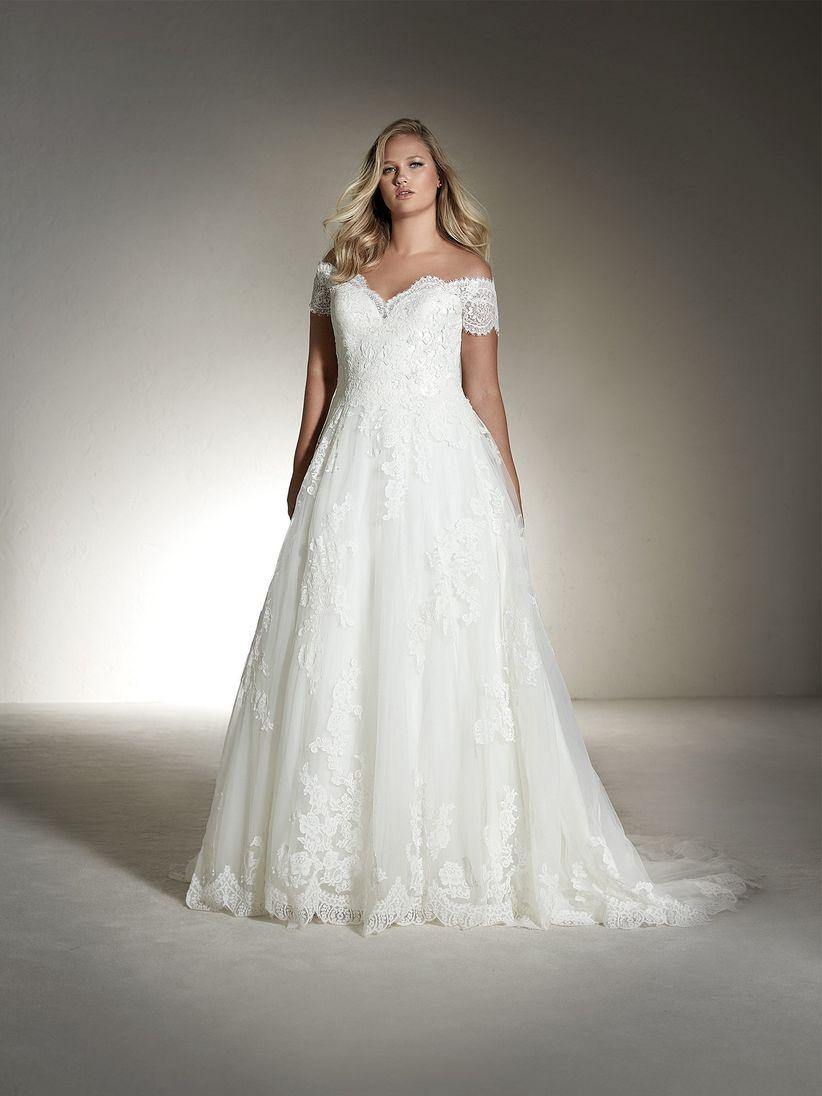 Vestidos de novia cortos para gorditas color beige