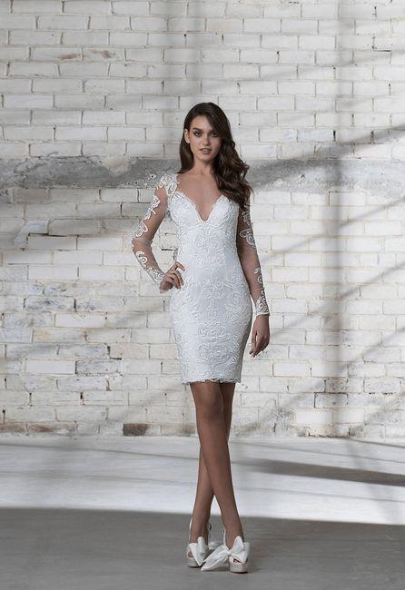 50 Vestidos De Novia Para Matrimonio Civil 2019 Diseños