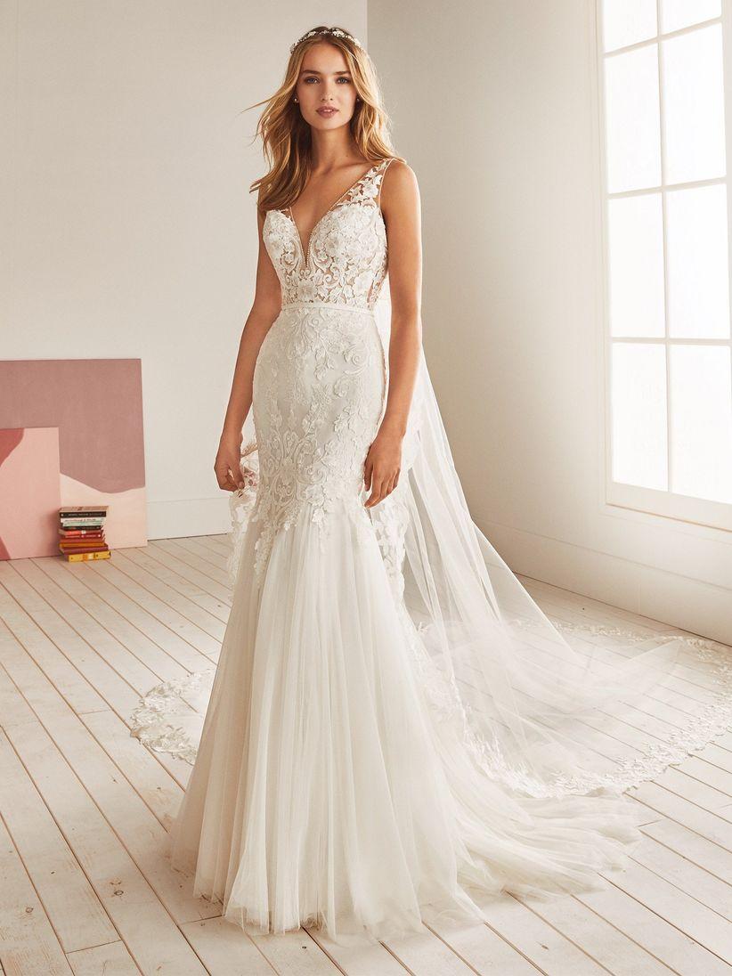 df2003ed7 Vestidos de novia corte sirena 2019  deslumbrante y gloriosa en tu ...