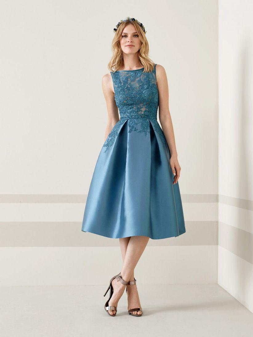 Vestidos cortos azul noche