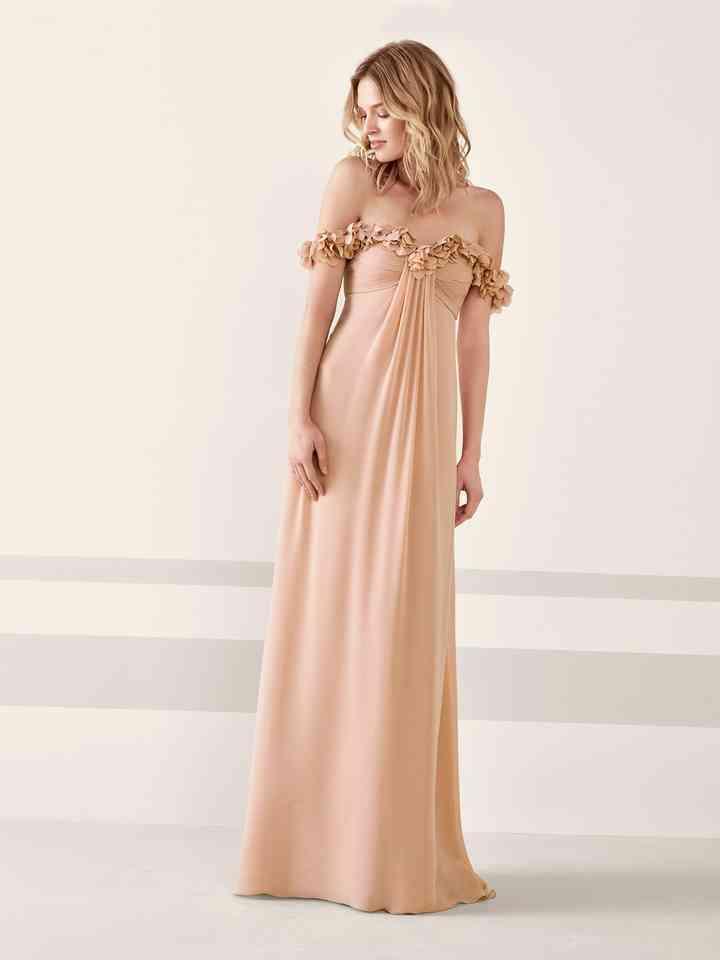 40 Vestidos De Fiesta En Tonos Tierra Y Nude