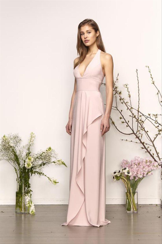 Modelos de vestidos para damas de matrimonio 2019