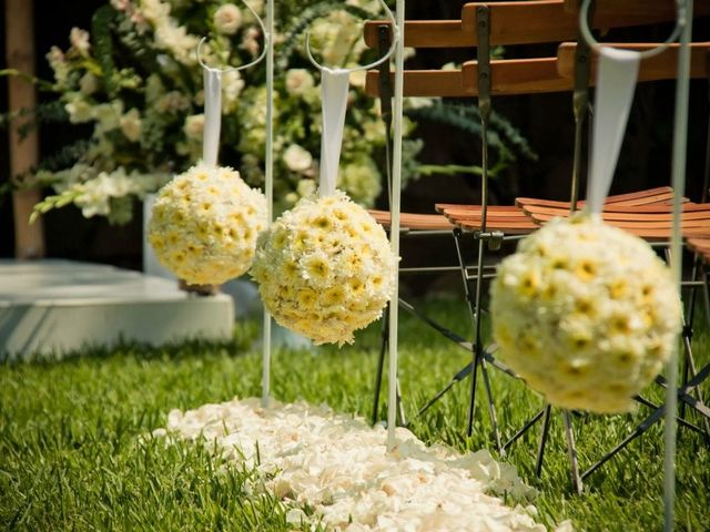 Esferas florales para su matrimonio ¡decoración con flores que marca tendencia!