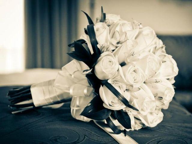 Fotografía del bouquet de novia