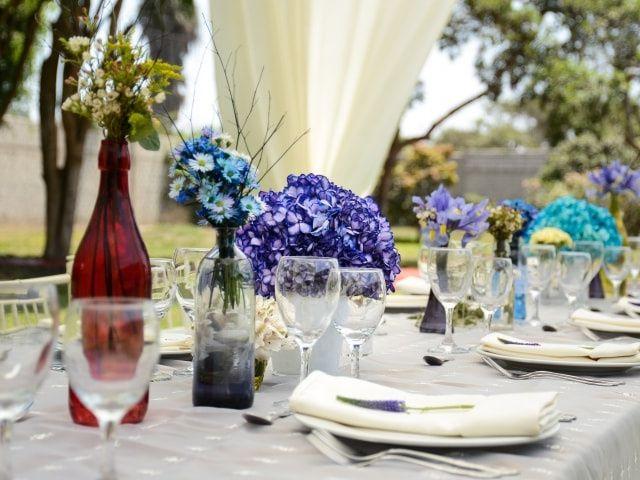 Ideas para decorar tu boda con pomos de cristal