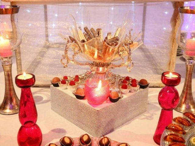 Decoraci n rom ntica con velas para tu boda - Proveedores de velas ...
