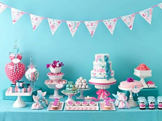 Mesa de dulces o torta de matrimonio