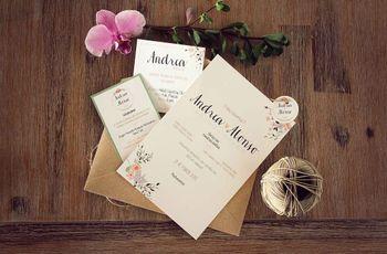 50 modelos de tarjetas de matrimonio que no deberías perder de vista