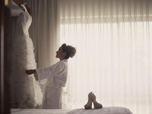 Cuidados para tu vestido de novia antes de la boda