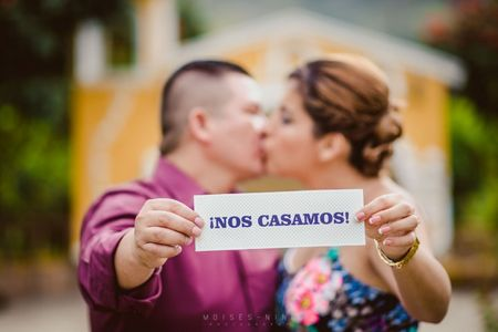 """Save the date"" para matrimonios"