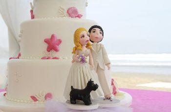 los muecos de la torta de matrimonio