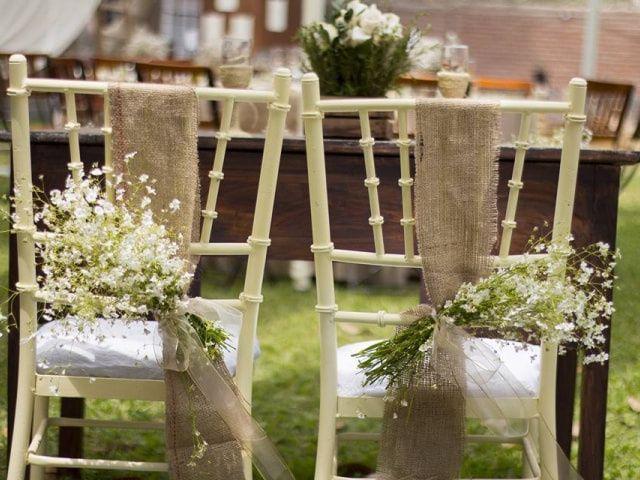 Las sillas de su matrimonio: 9 ideas bellísimas para decorarlas