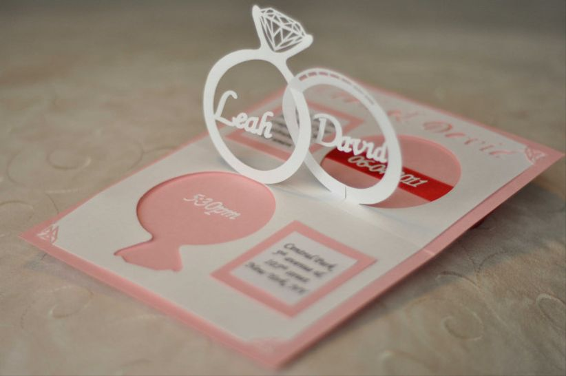 How To Make A Pop Up Wedding Cake Card