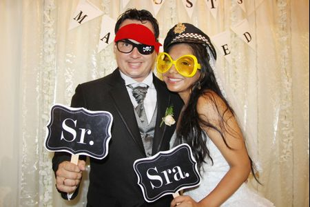 Photocall: 15 ideas originales para retratar tu matrimonio
