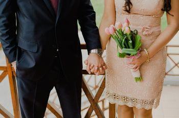 Los consejos que necesitas para encontrar tu bouquet de novia civil