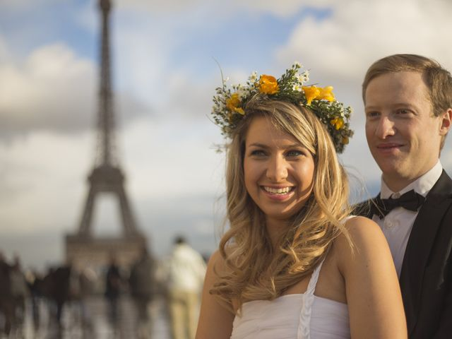 Camila y Lucas un pre-postboda en París
