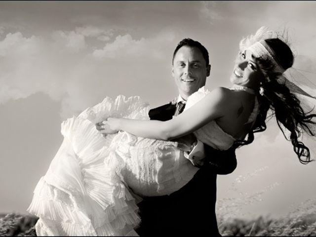 El matrimonio vintage  de Sara y Javier