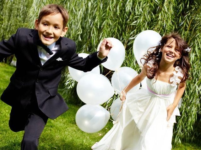 ¿Niños en su matrimonio? las mejores ideas para entretenerlos